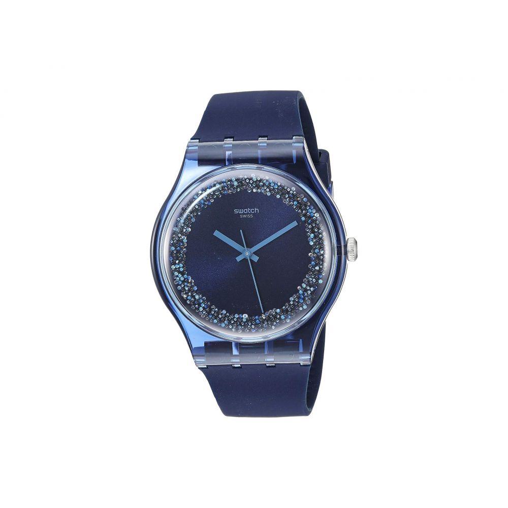 スウォッチ Swatch レディース 腕時計【Blusparkles - SUON134】Blue