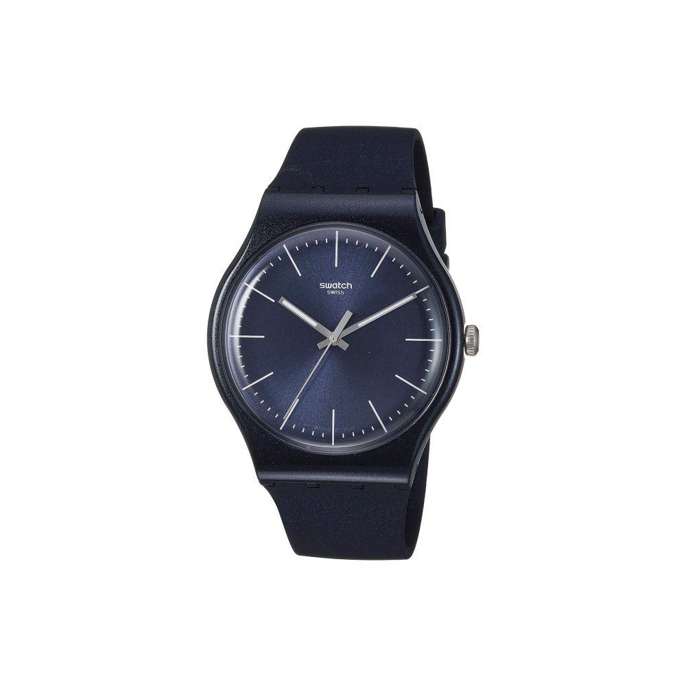 スウォッチ Swatch レディース 腕時計【Naitbayang - SUON136】Blue