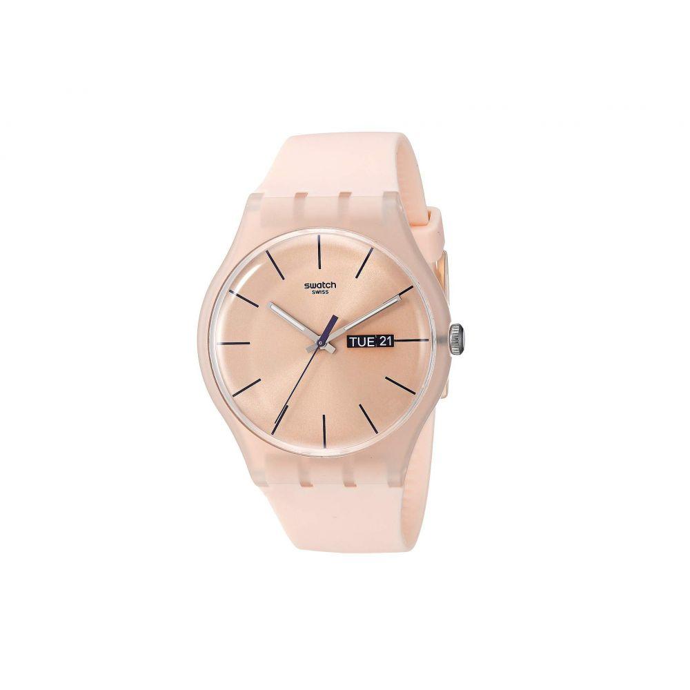 スウォッチ Swatch レディース 腕時計【Rose Rebel - SUOT700】Pink
