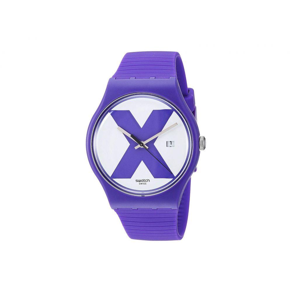 スウォッチ Swatch レディース 腕時計【XX-Rated Purple - SUOV401】Purple