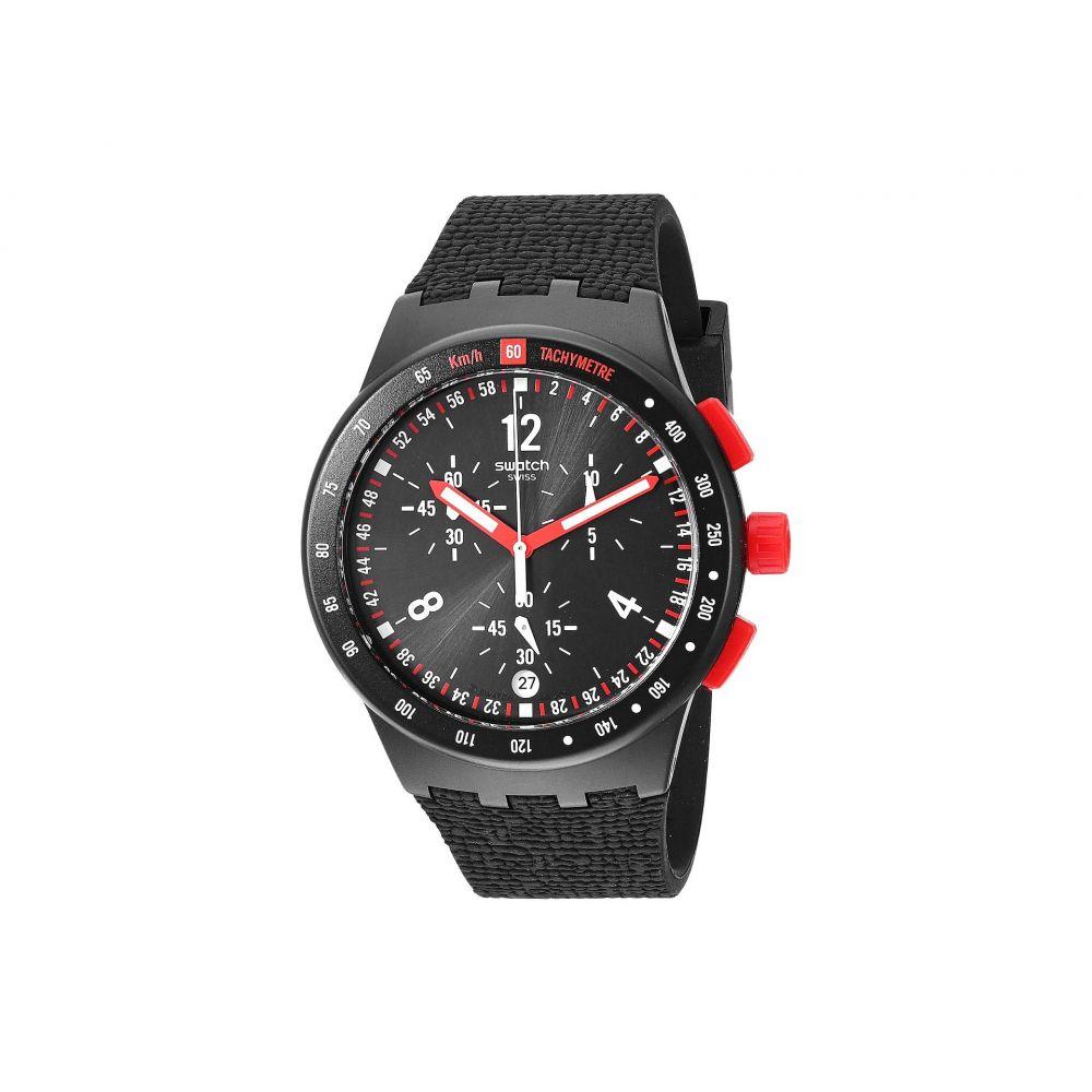 スウォッチ Swatch レディース 腕時計【Stand Hall - SUSB411】Black