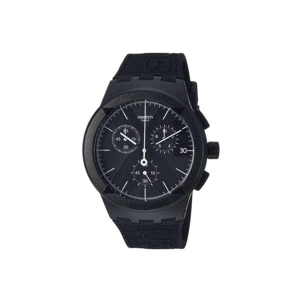スウォッチ Swatch レディース 腕時計【X-District Black - SUSB413】Black