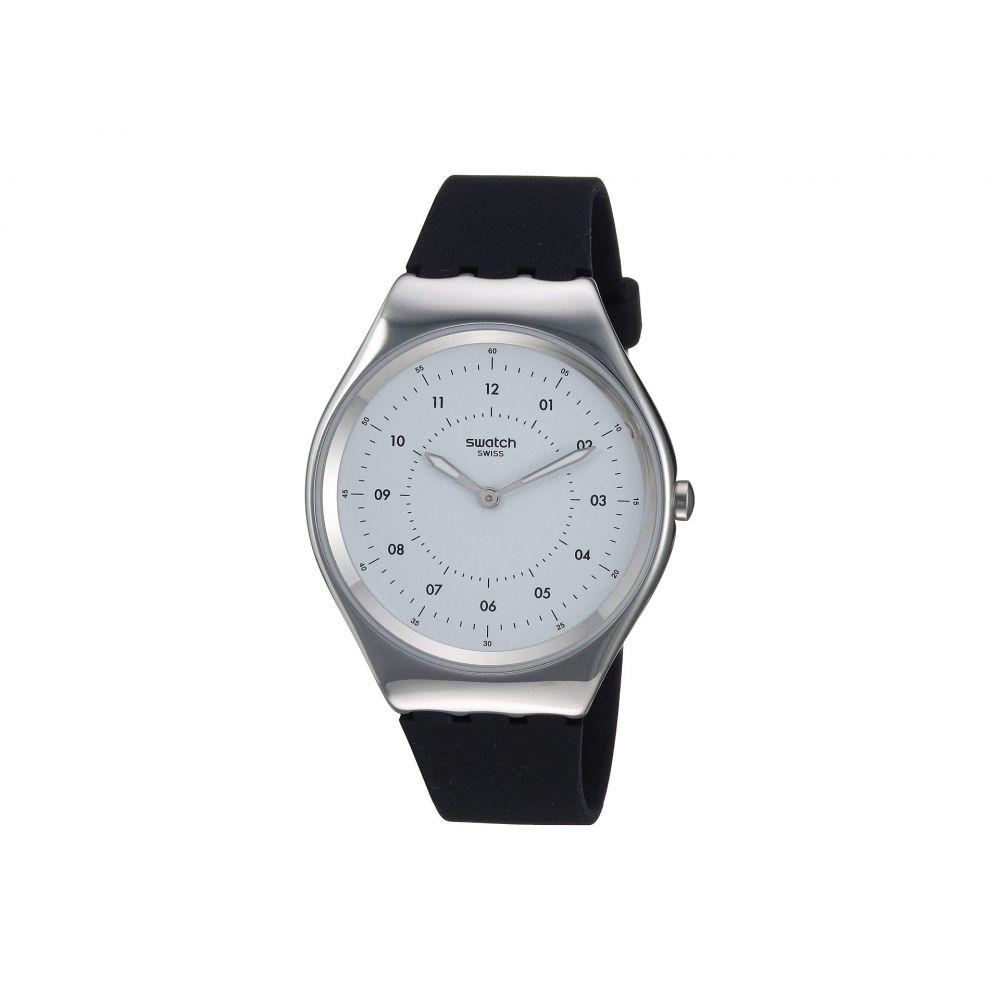 スウォッチ Swatch レディース 腕時計【Skinnoiriron - SYXS100】White