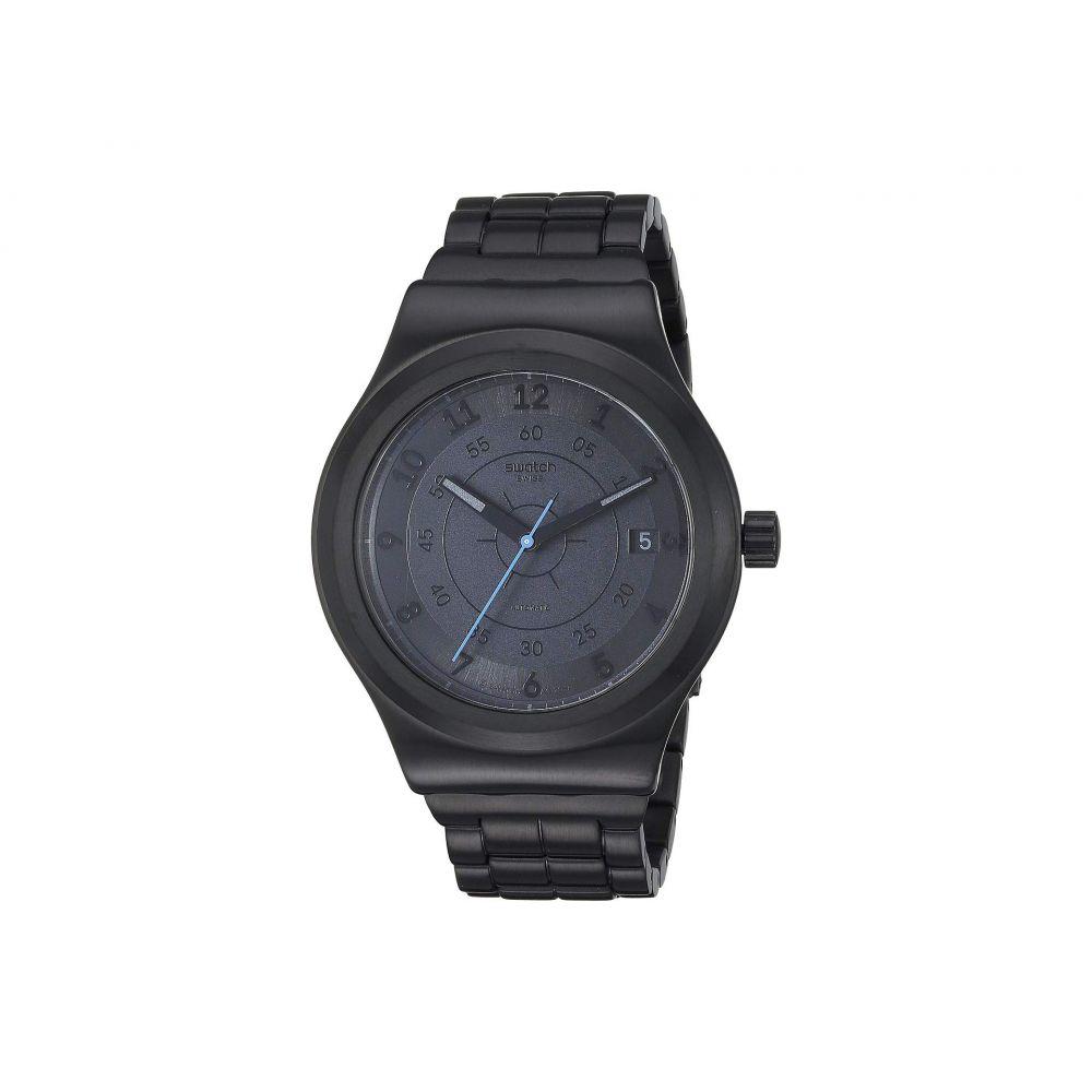 スウォッチ Swatch レディース 腕時計【Sistem Dark - YIB401G】Black