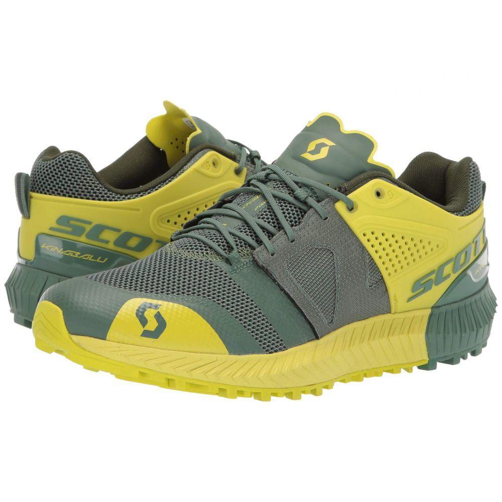 スコット Scott メンズ ランニング・ウォーキング シューズ・靴【Kinabalu Power】Green/Yellow