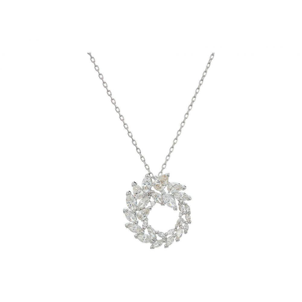 スワロフスキー Swarovski レディース ジュエリー・アクセサリー ネックレス【Louison Pendant Necklace】White