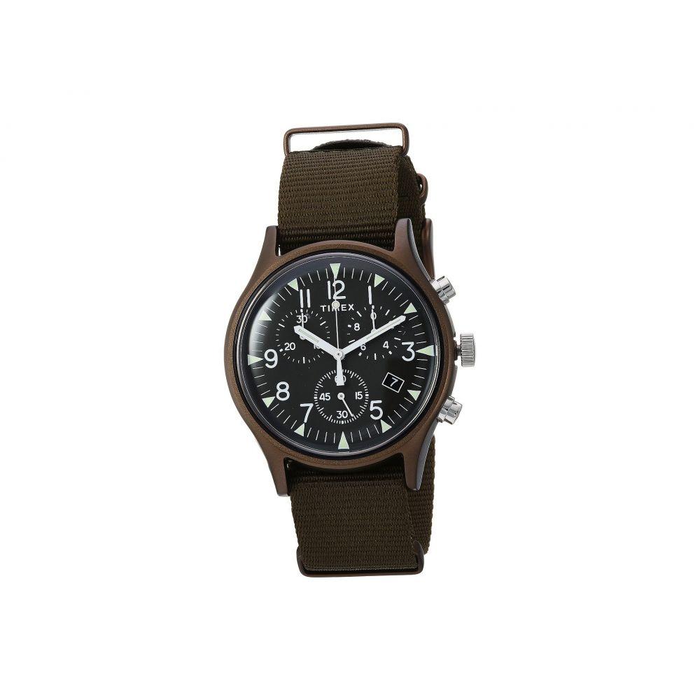 タイメックス Timex メンズ 腕時計【MK1 Aluminum Chrono】Olive/Olive