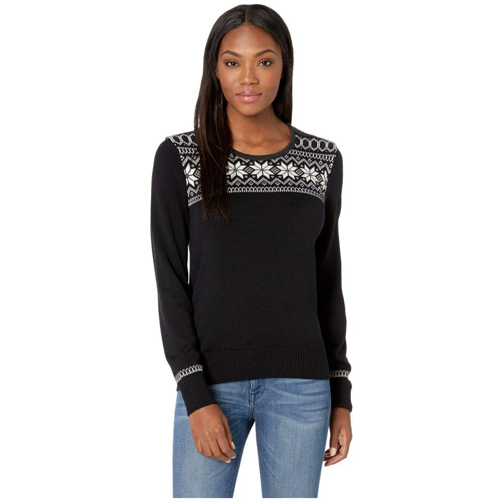 ダーレ オブ ノルウェイ Dale of Norway レディース トップス ニット・セーター【Garmisch Feminine Sweater】F-Black/Off-White/Dark Charcoal/Allium