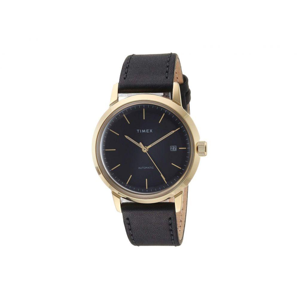 タイメックス Timex メンズ 腕時計【Marlin Automatic】Black/Gold