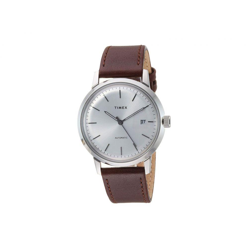 タイメックス Timex メンズ 腕時計【Marlin Automatic】Brown/Silver