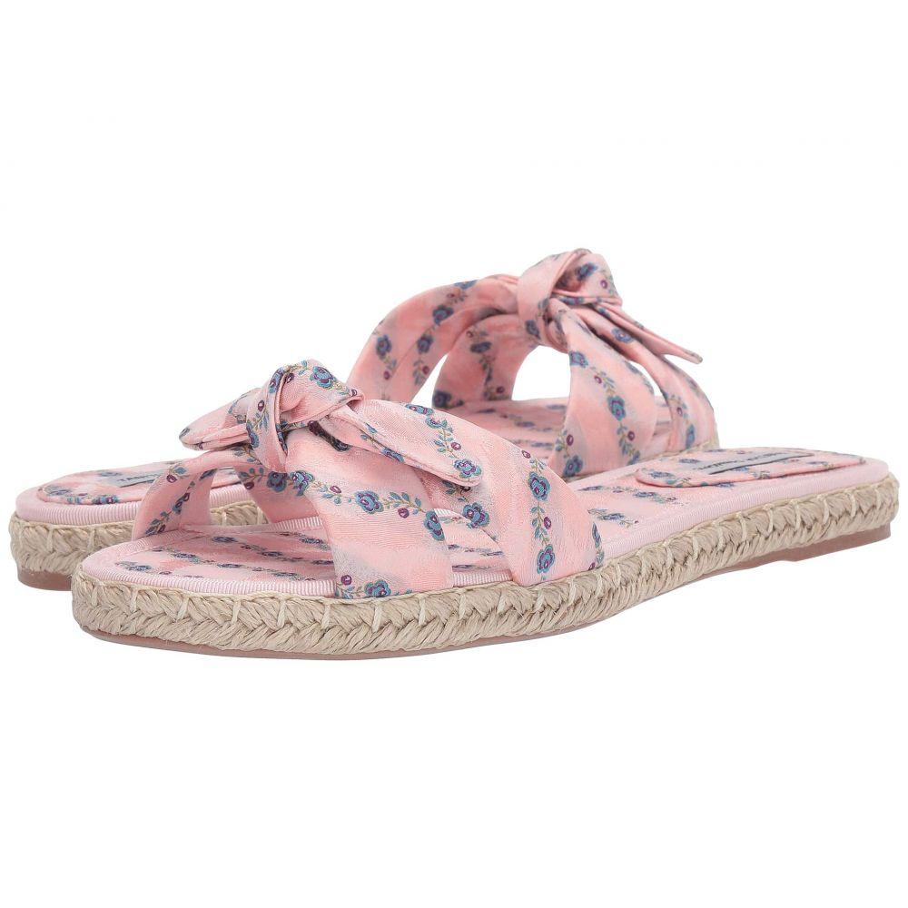 タビサ シモンズ Tabitha Simmons レディース シューズ・靴 サンダル・ミュール【Heli】Light Pink Striped Jacquard