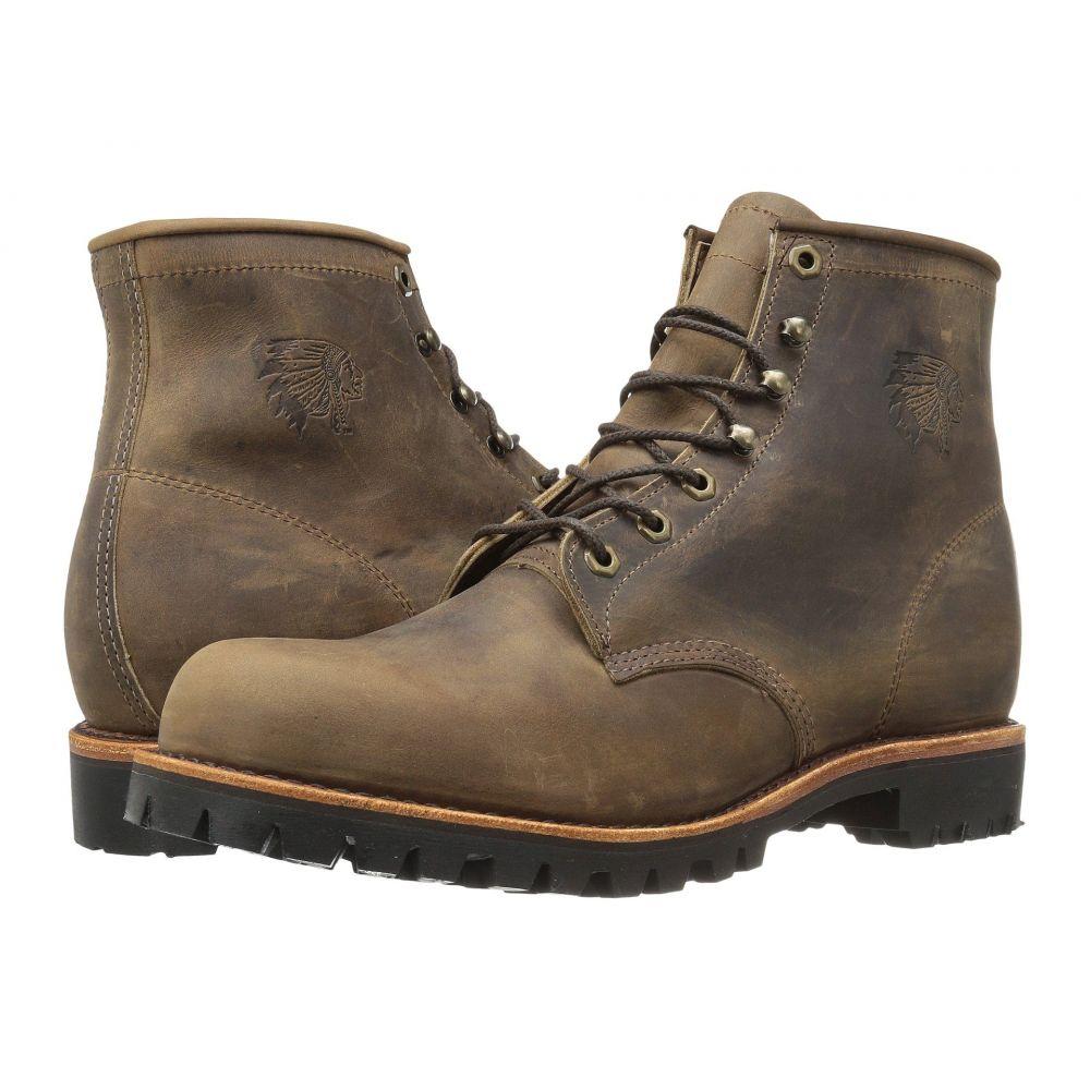 チペワ Chippewa メンズ シューズ・靴 ブーツ【Apache Lace Up】Chocolate