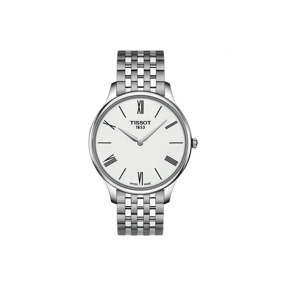 ティソ Tissot メンズ 腕時計【Tradition - T0634091101800】White