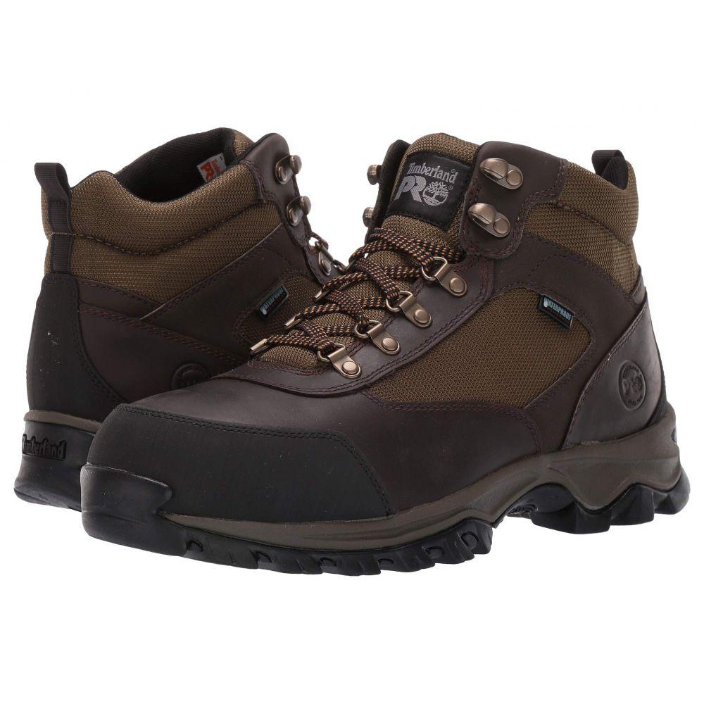 ティンバーランド Timberland PRO メンズ ハイキング・登山 シューズ・靴【Keele Ridge Work Steel Safety Toe】Brown Nubuck Leather