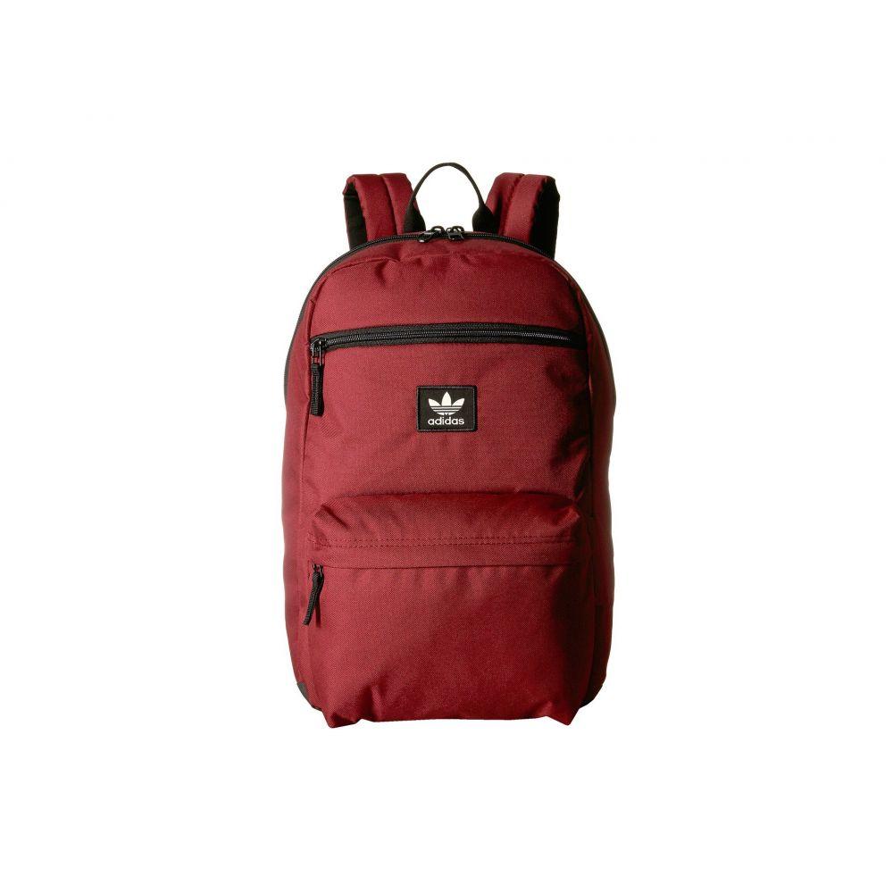 アディダス adidas Originals レディース バッグ バックパック・リュック【Originals National Backpack】Noble Maroon/Black