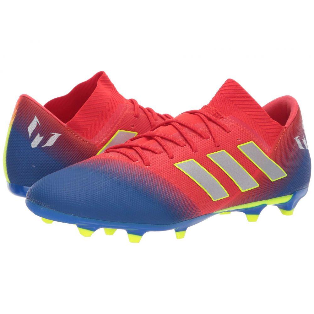 アディダス adidas メンズ サッカー シューズ・靴【Nemeziz Messi 18.3 FG】Active Red/Silver Metallic/Football Blue