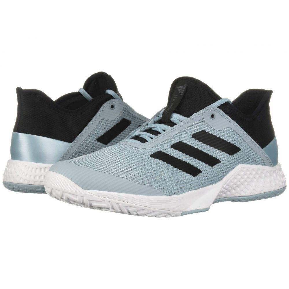 アディダス adidas メンズ テニス シューズ・靴【Adizero Club 2】Footwear White/Blue Spirit/Footwear White