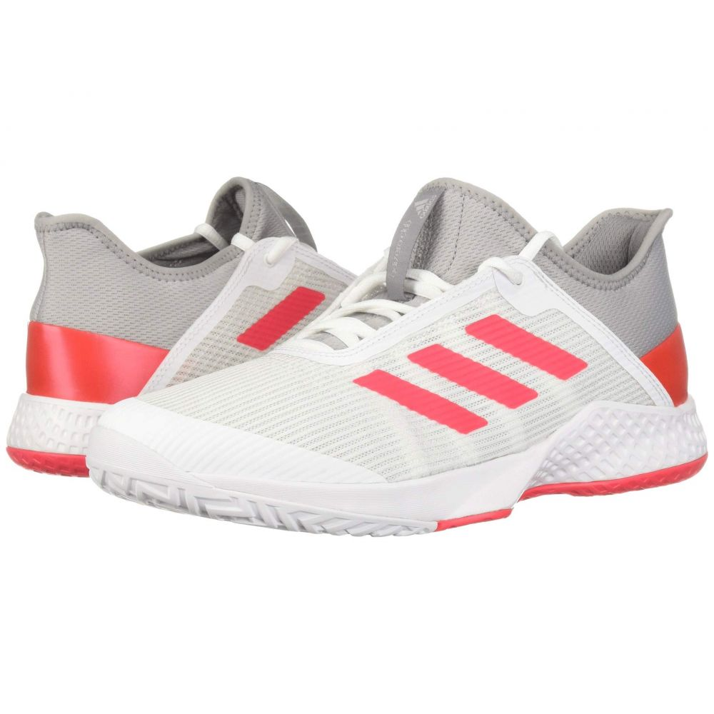 アディダス adidas メンズ テニス シューズ・靴【Adizero Club 2】Light Granite/Shock Red/Footwear White