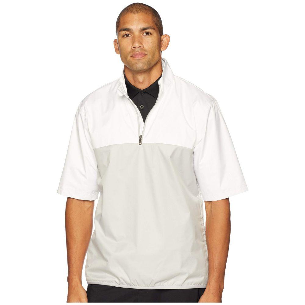 アディダス adidas Golf メンズ アウター レインコート【Climastorm Provisional Rain Short Sleeve Pullover】White