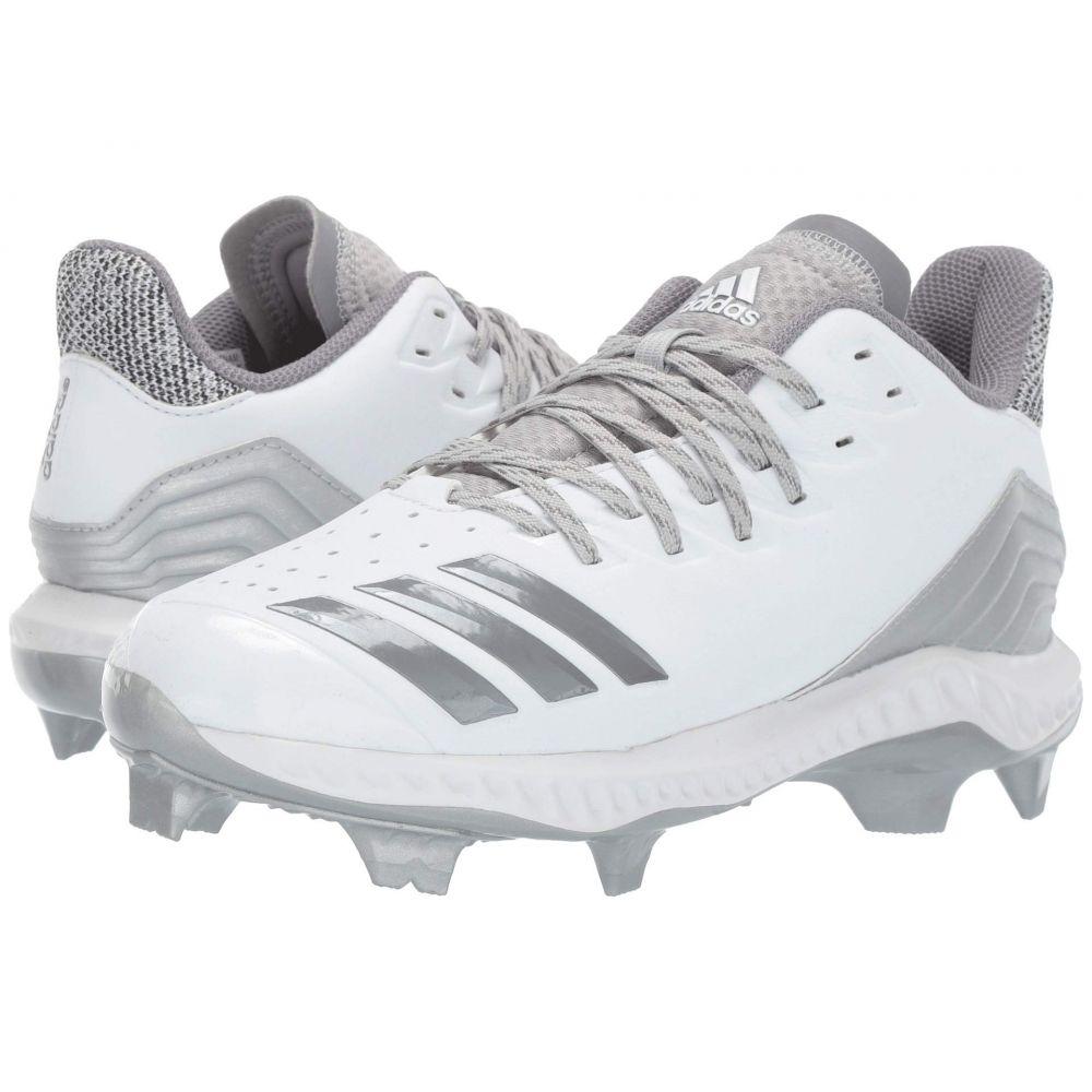 アディダス adidas レディース 野球 シューズ・靴【Icon Bounce TPU】Footwear White/Grey Three F17/Grey Two F17