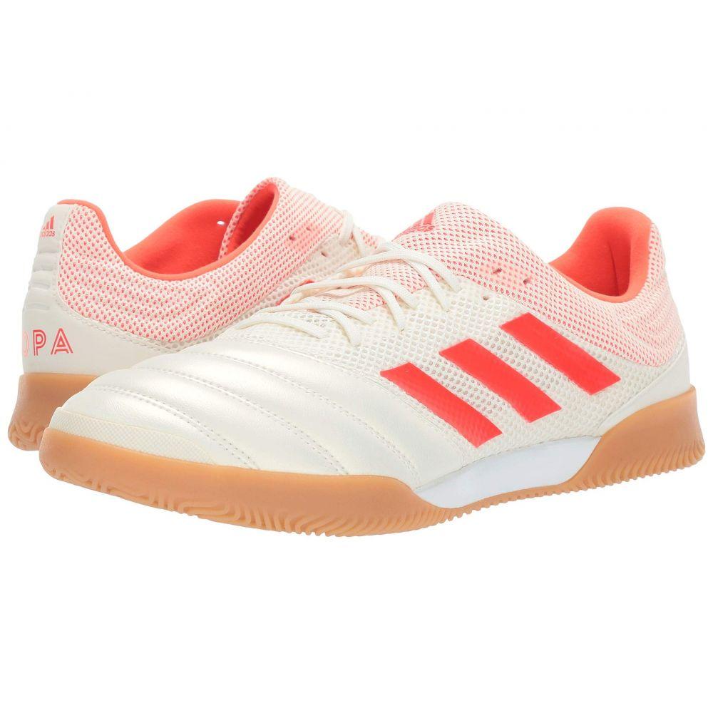 アディダス adidas メンズ サッカー シューズ・靴【Copa 19.3 IN Sala】Off-White/Solar Red/Gum M1