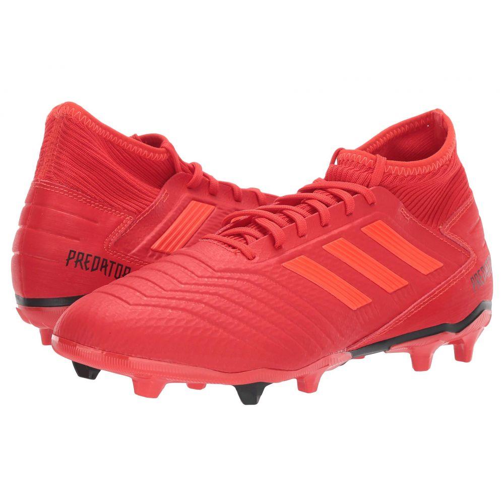 アディダス adidas メンズ サッカー シューズ・靴【Predator 19.3 FG】Active Red/Solar Red/Core Black