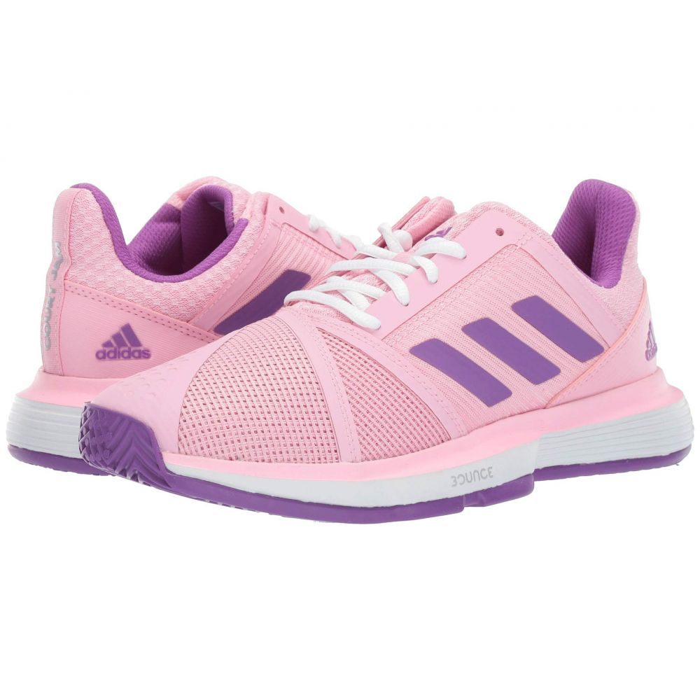アディダス adidas レディース テニス シューズ・靴【Matchcourt Bounce Multicourt】True Pink/Active Purple/Footwear White