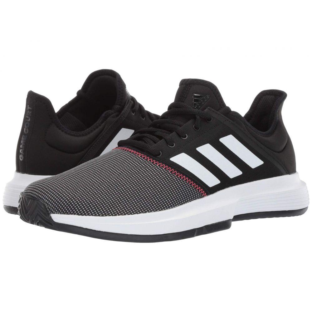 アディダス adidas メンズ テニス シューズ・靴【GameCourt】Core Black/Footwear White/Shock Red