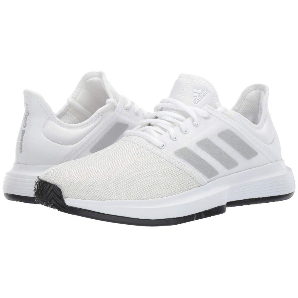 アディダス adidas メンズ テニス シューズ・靴【GameCourt】Footwear White/Matte Silver/Core Black