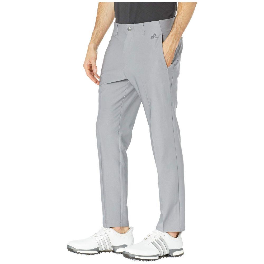 アディダス adidas Golf メンズ ボトムス・パンツ【Ultimate 3-Stripes Tapered Pants】Grey Three