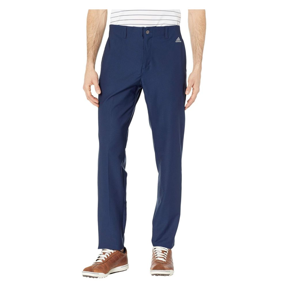 アディダス adidas Golf メンズ ボトムス・パンツ【Ultimate 3-Stripes Tapered Pants】Collegate Navy
