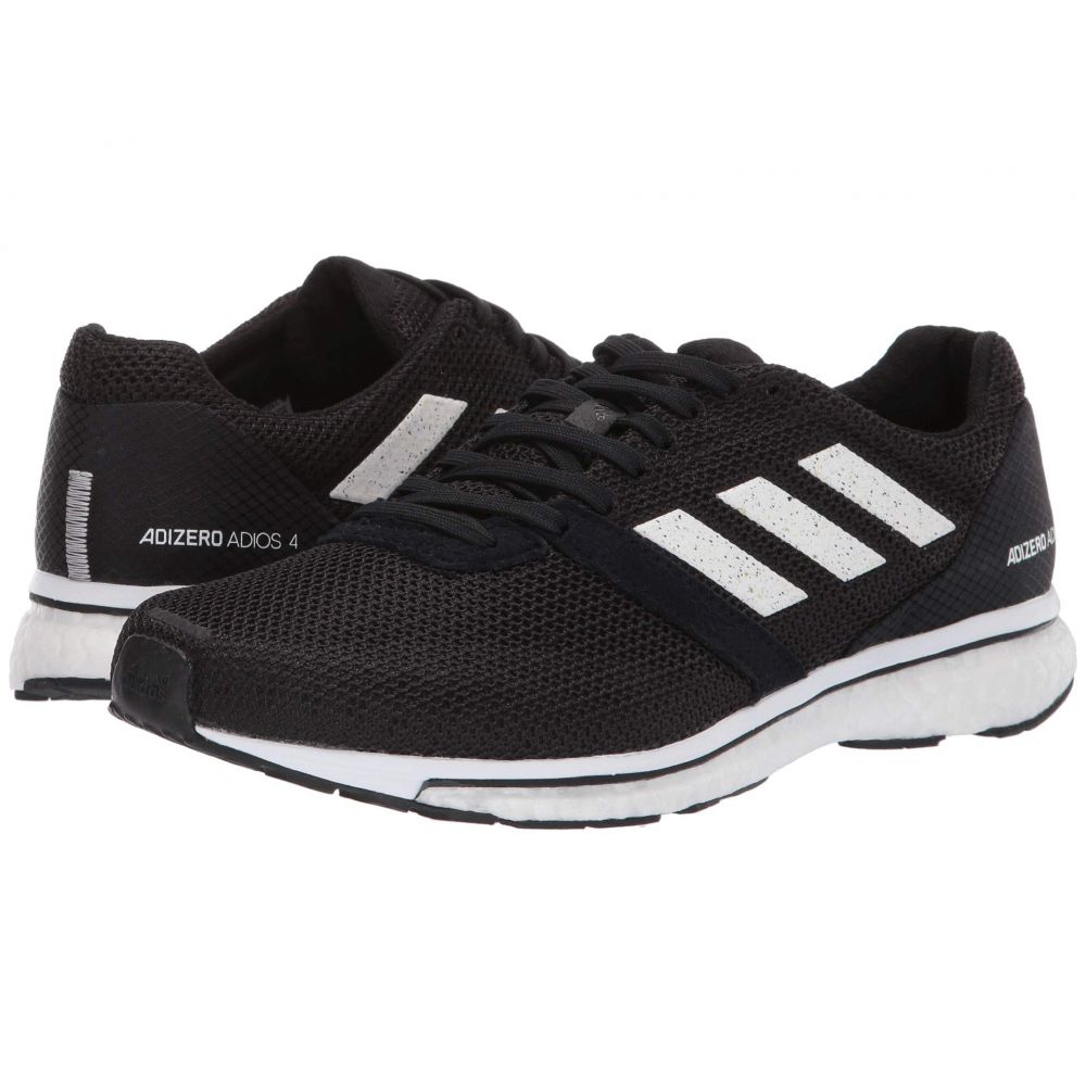 アディダス adidas Running レディース ランニング・ウォーキング シューズ・靴【Adizero Adios 4】Black/Footwear White/Black