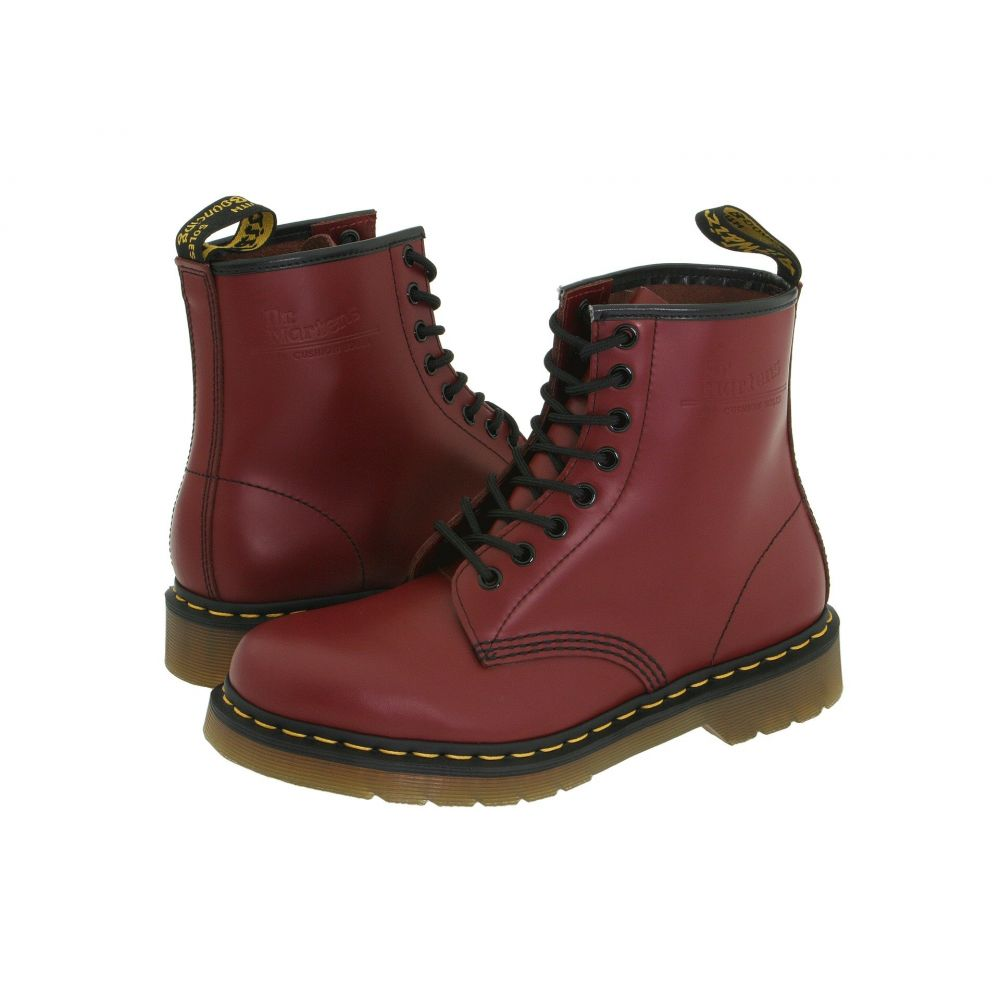 ドクターマーチン Dr. Martens レディース シューズ・靴 ブーツ【1460】Cherry Red Smooth