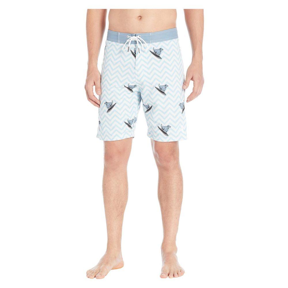 トーズオンザノーズ Toes on the Nose メンズ 水着・ビーチウェア 海パン【Surfin' Bull Boardshorts】Cool Water