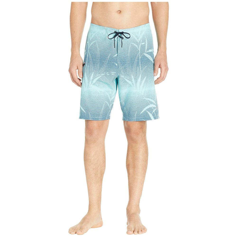 トミー バハマ Tommy Bahama メンズ 水着・ビーチウェア 海パン【North Shore Bamboo Fade Tech Hybrid Boardshorts】Blue Swell
