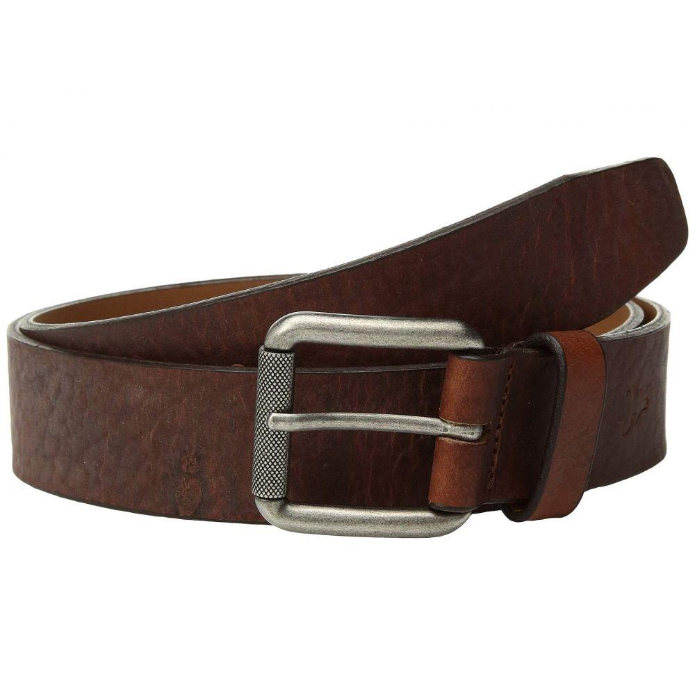 トラスク Trask メンズ ベルト【Cash Belt】Saddle Tan American Bison