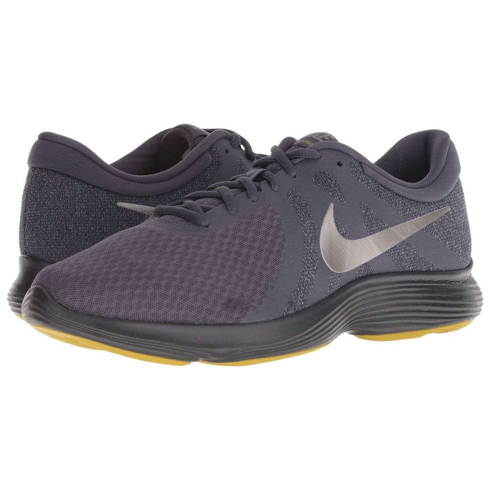 ナイキ Nike メンズ ランニング・ウォーキング シューズ・靴【Revolution 4】Gridiron/Metallic Pewter/Light Carbon/Black
