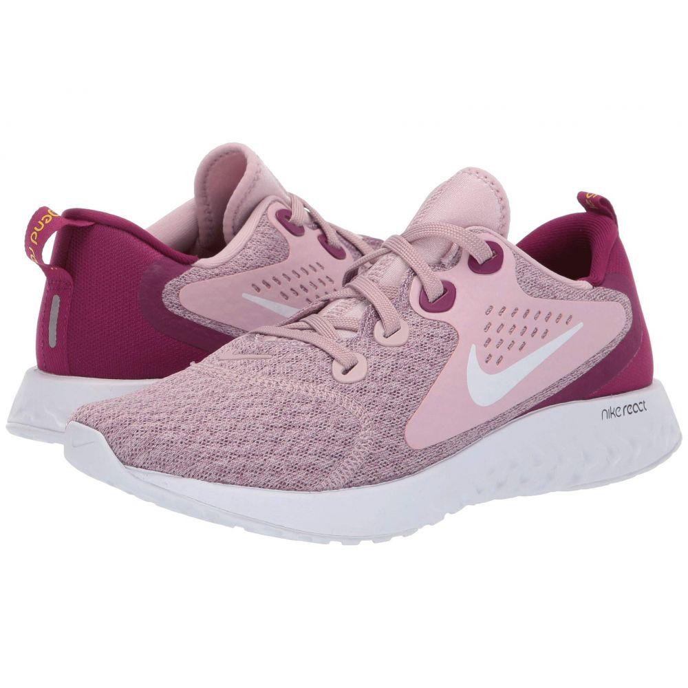 ナイキ Nike レディース ランニング・ウォーキング シューズ・靴【Legend React】Plum Chalk/White/True Berry