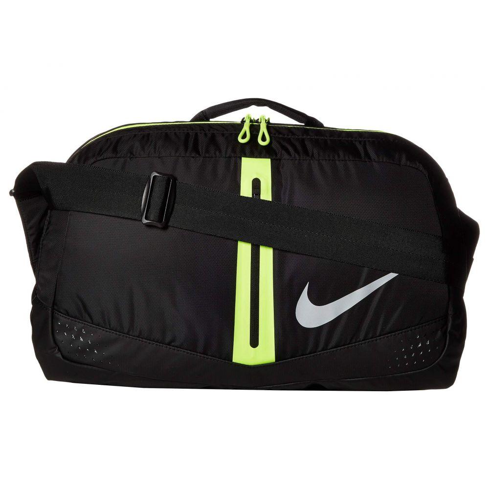 ナイキ Nike レディース バッグ ボストンバッグ・ダッフルバッグ【Run Duffel Bag 34L】Black/Volt/Silver
