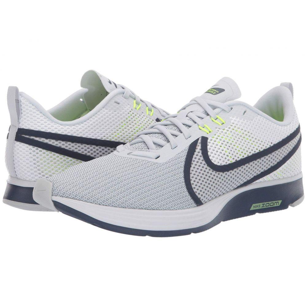 ナイキ Nike メンズ ランニング・ウォーキング シューズ・靴【Zoom Strike 2 Running Shoe】White/Pure Platinum/Thunder Blue/Volt