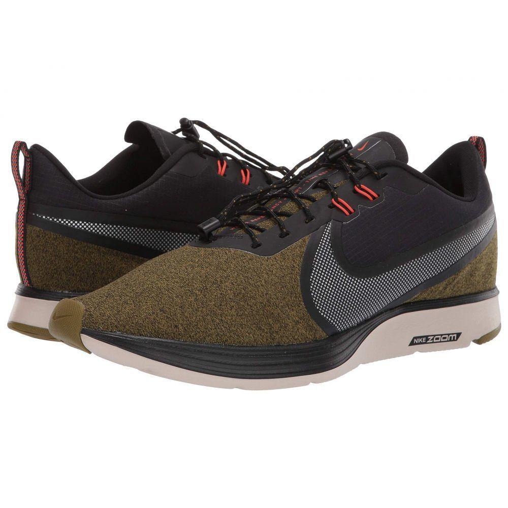 ナイキ Nike メンズ ランニング・ウォーキング シューズ・靴【Zoom Strike 2 Shield】Olive Flak/Metallic Silver/Sequoia