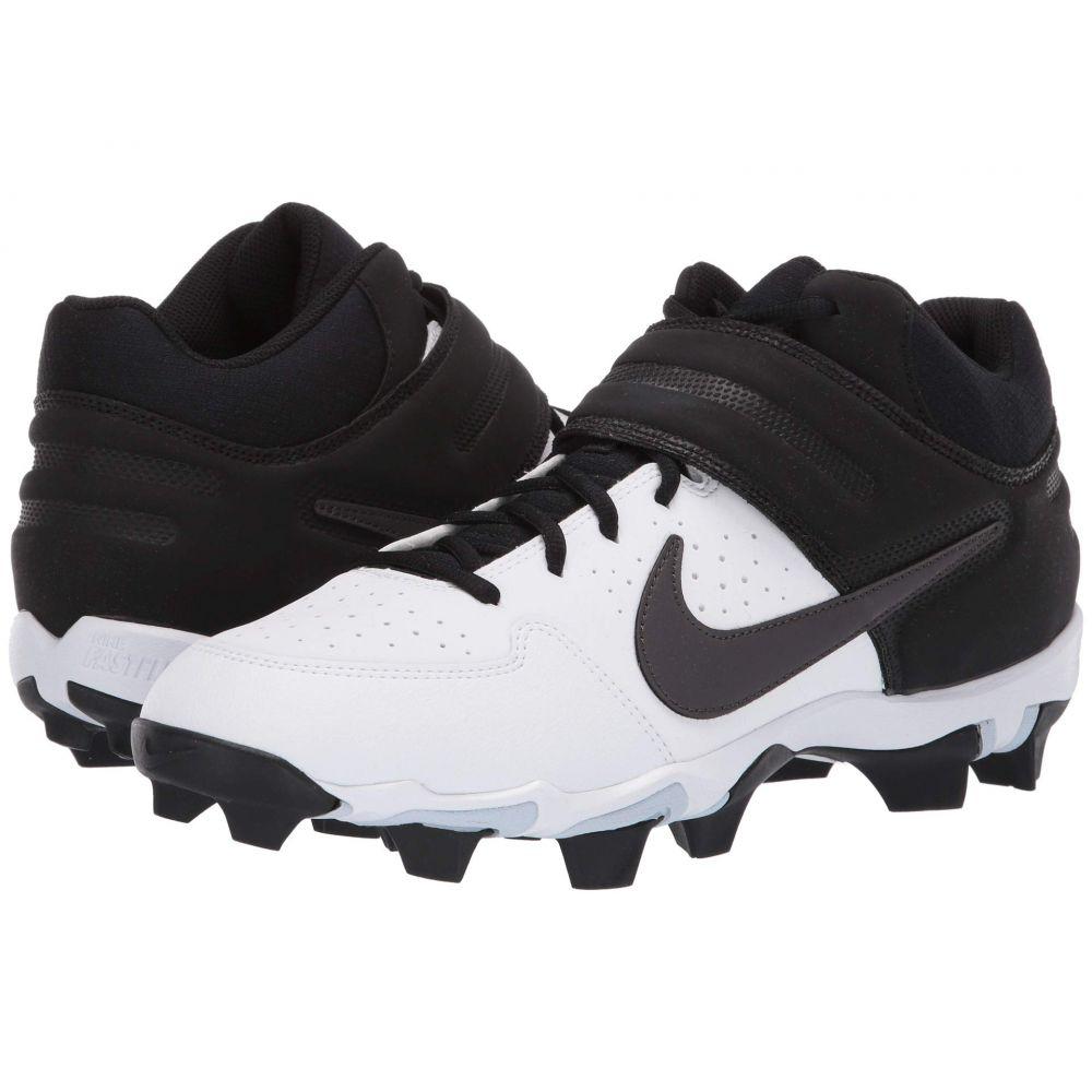ナイキ Nike メンズ アメリカンフットボール シューズ・靴【Alpha Huarache Varsity Keystone Mid】White/Thunder Grey/Black/Pure Platinum