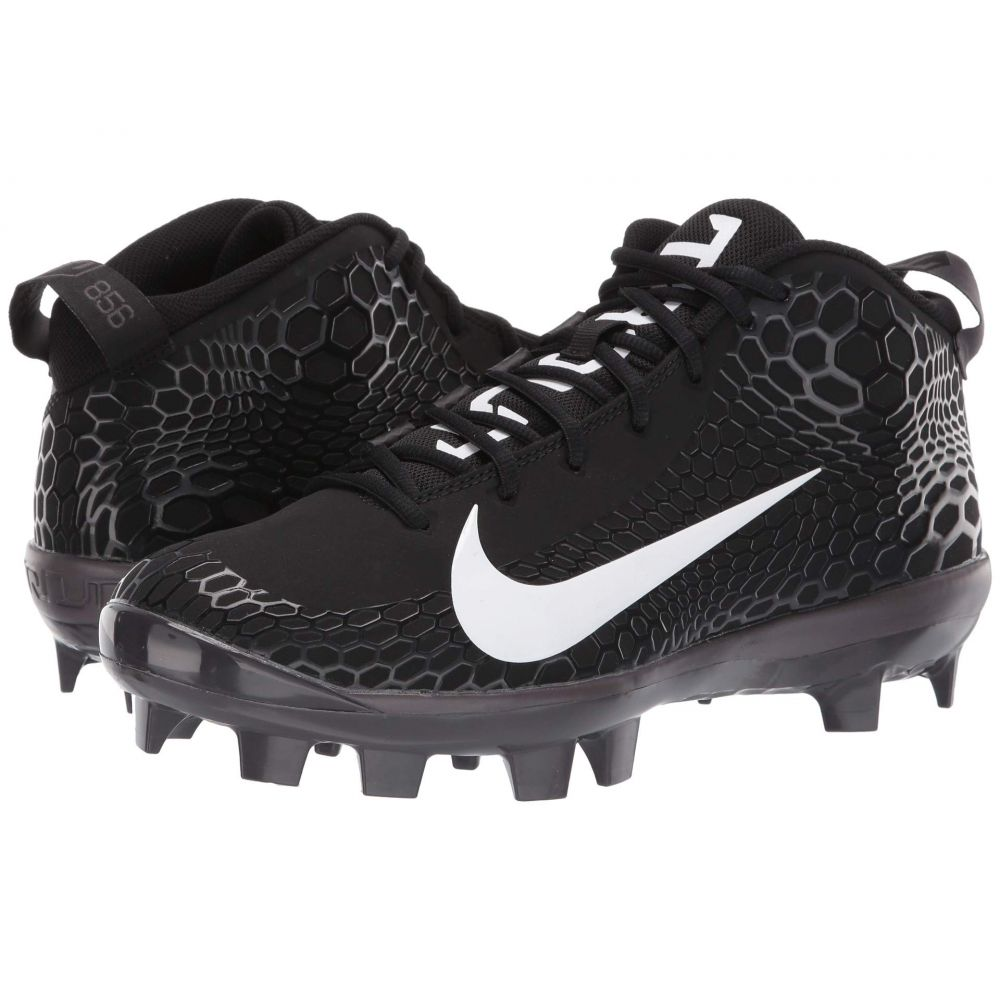 ナイキ Nike メンズ 野球 シューズ・靴【Force Zoom Trout 5 Pro MCS】Black/White/Oil Grey/Thunder Grey