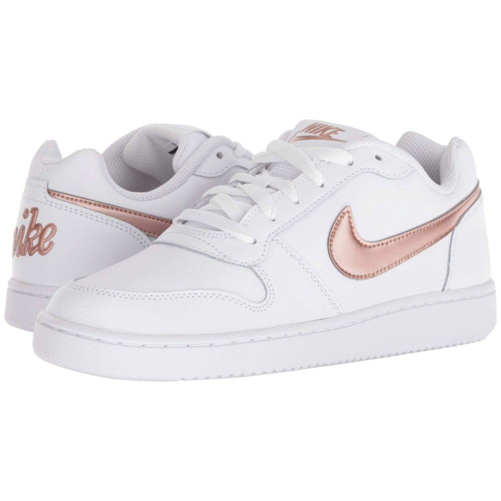 【良好品】 ナイキ Nike レディース バスケットボール Red シューズ・靴【Ebernon Low Nike】White Bronze/Metallic Red Bronze, ホラドムラ:e9625dce --- edu.ms.ac.th