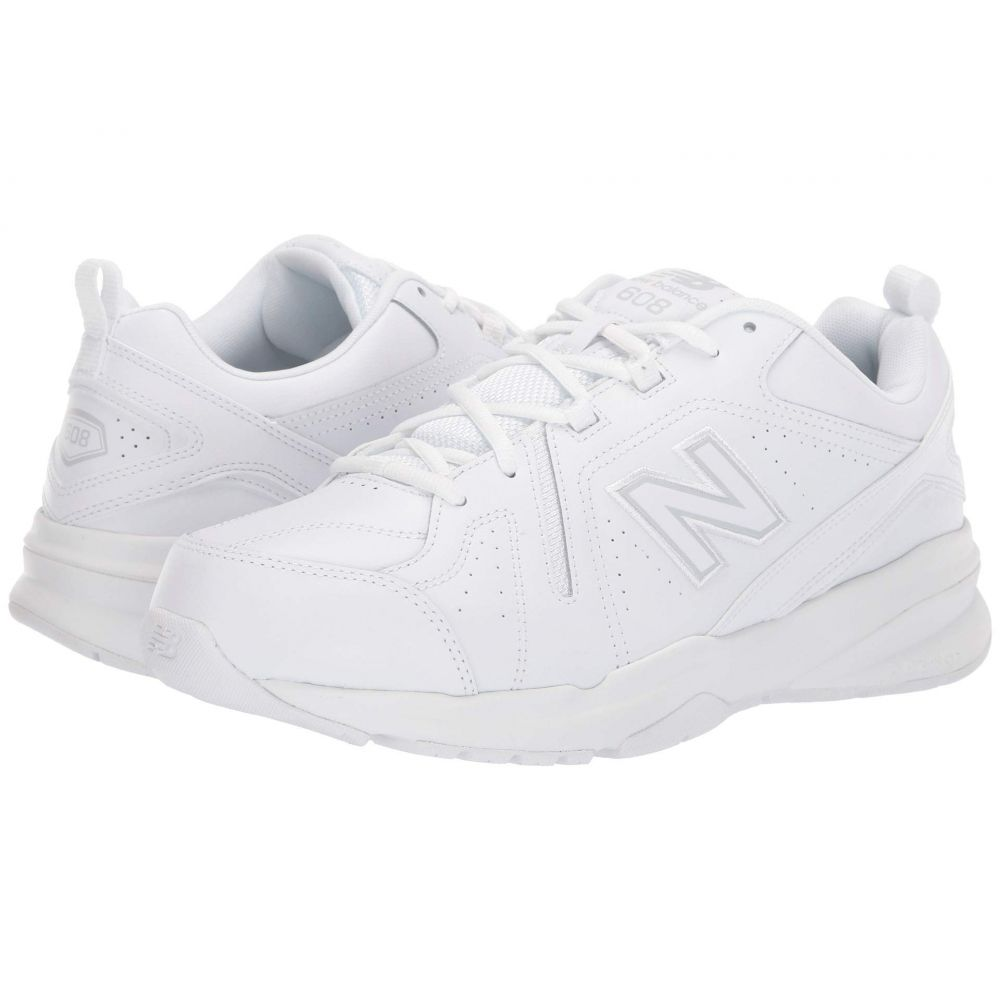 ニューバランス New Balance メンズ シューズ・靴 スニーカー【MX608v5】White/White