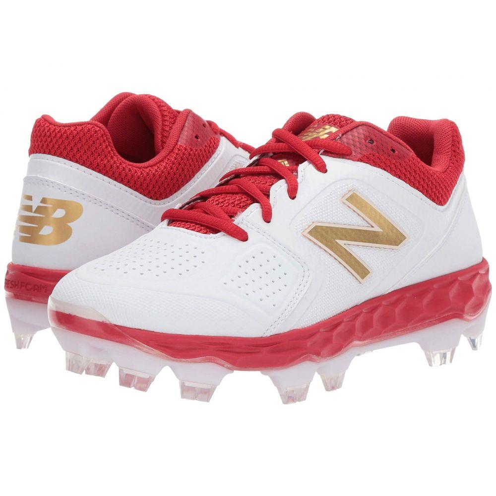 ニューバランス New Balance レディース 野球 シューズ・靴【Fresh Foam SPVELOv1】Red/White