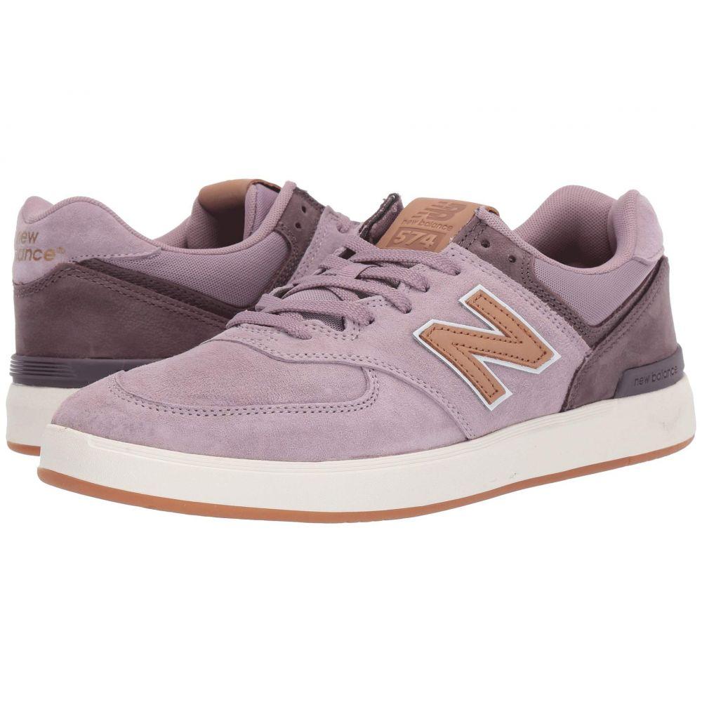 ニューバランス New Balance Numeric メンズ シューズ・靴 スニーカー【AM574】Rose/Tan