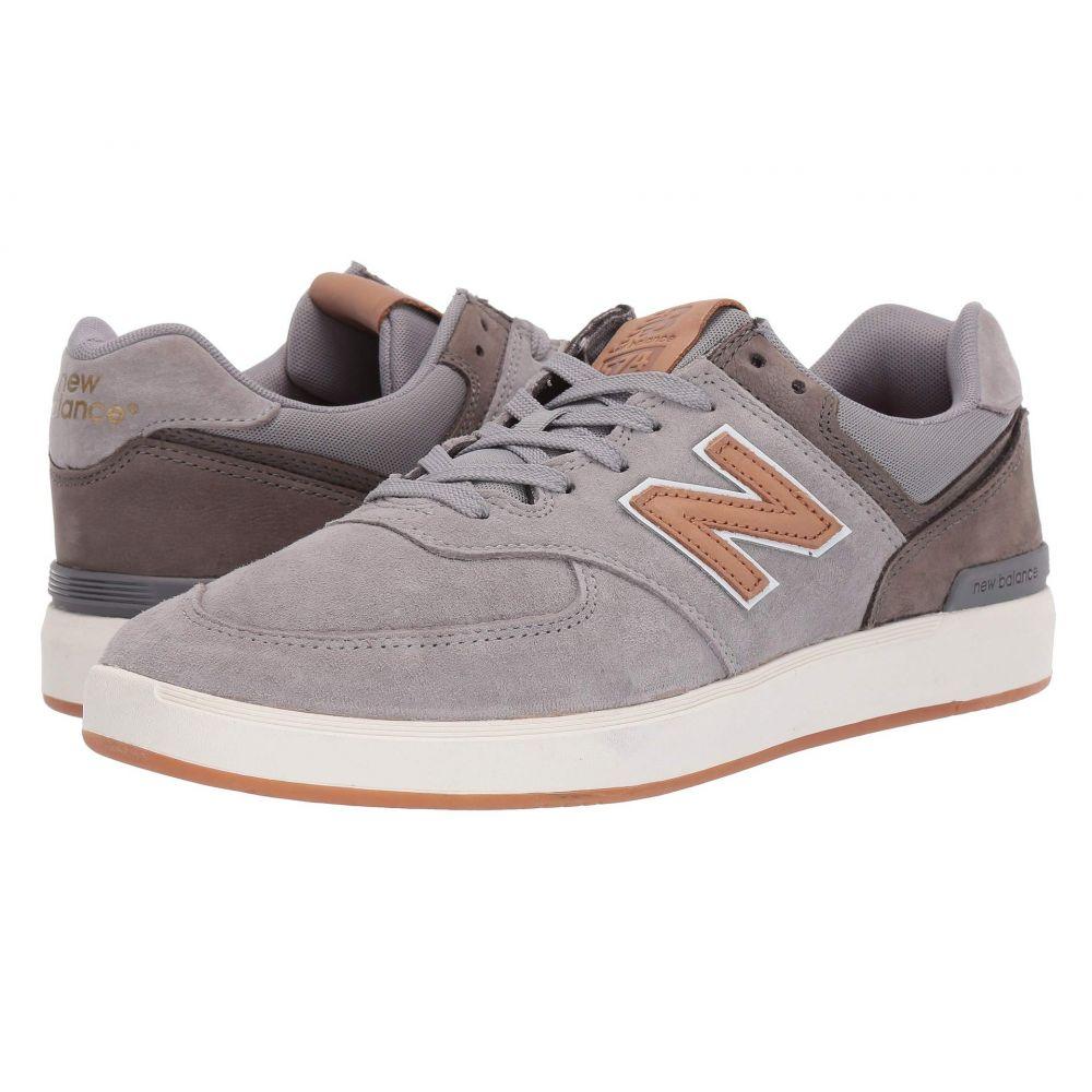 ニューバランス New Balance Numeric メンズ シューズ・靴 スニーカー【AM574】Grey/Tan
