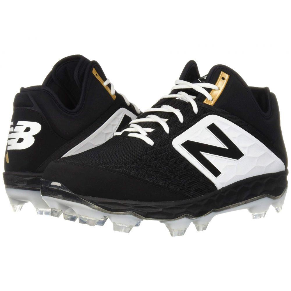 ニューバランス New Balance メンズ 野球 シューズ・靴【PM3000v4】Black/White