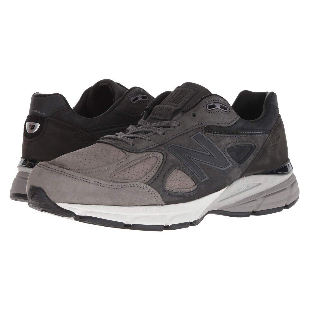 ニューバランス New Balance メンズ シューズ・靴 スニーカー【Made in US M990v4 Final Edition】Grey/Black
